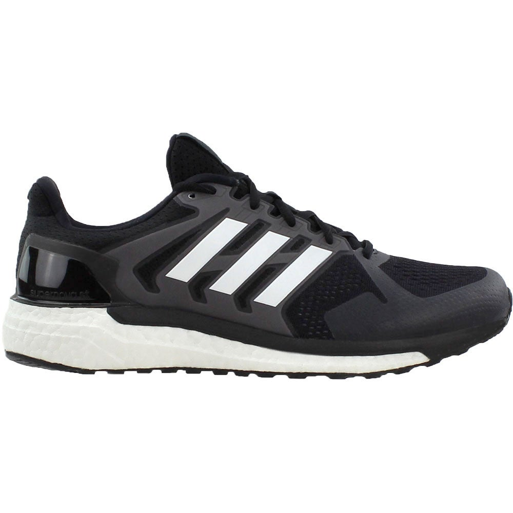 3be67c0e07ee9 Details about adidas Supernova St Running Shoes - Black - Mens