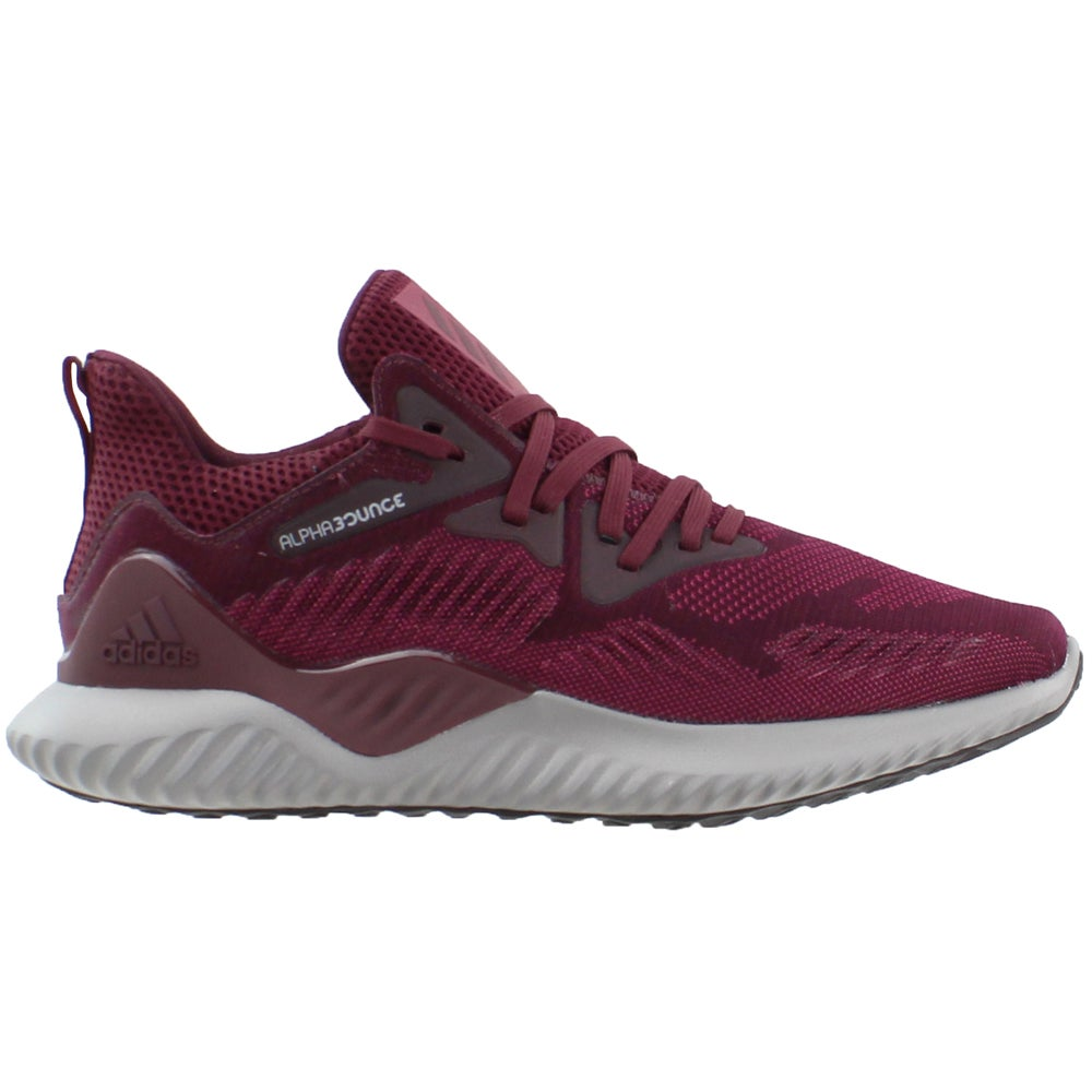 timeless design 7e4a0 bbebb Details about adidas Alphabounce Beyond Running Shoes - Burgundy - Mens