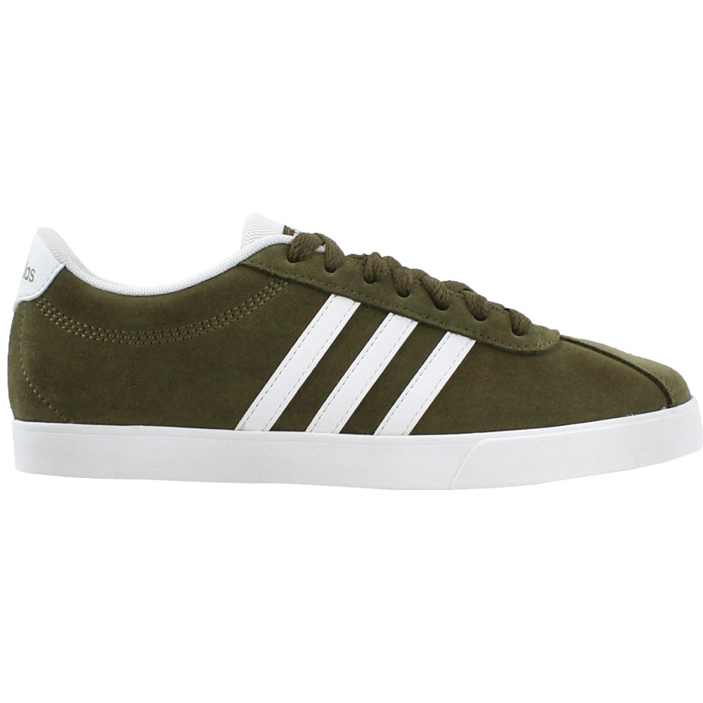 efccde8968f4 Details about adidas Courtset Sneakers - Green - Womens