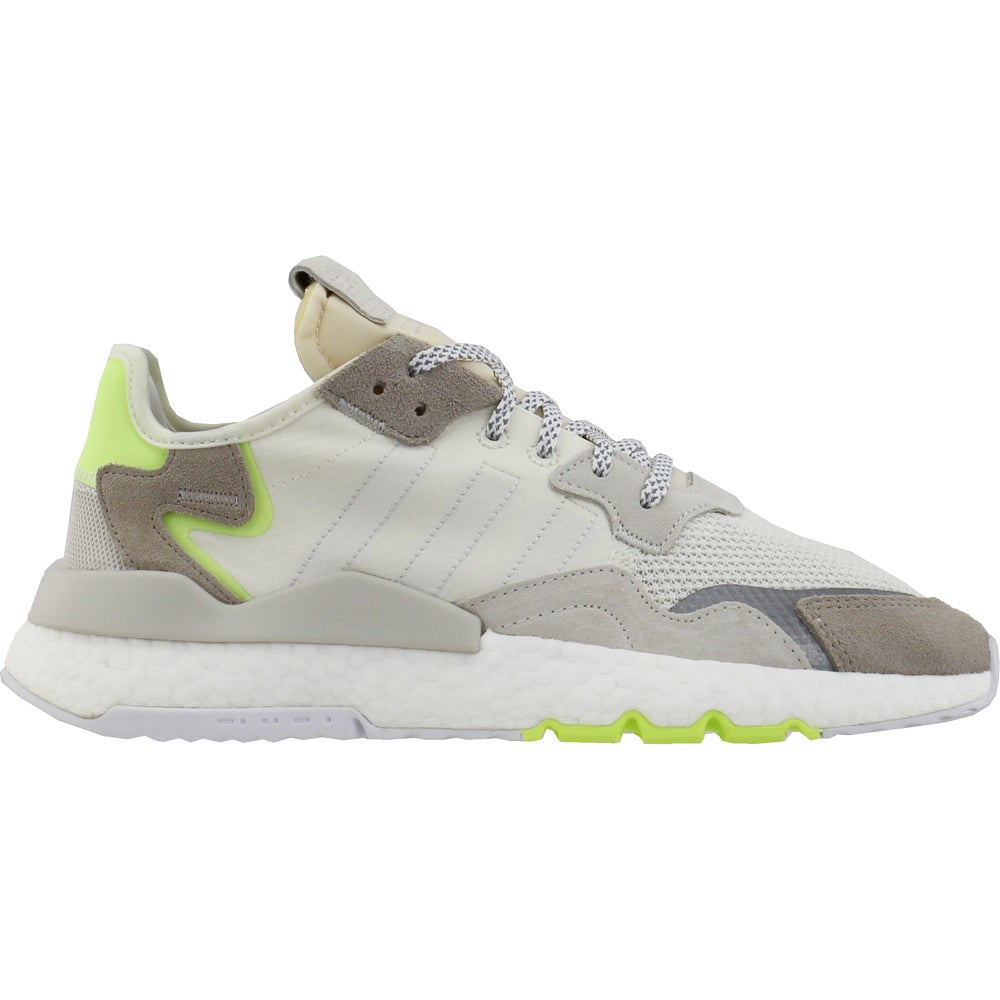 Women/'s adidas Originals Nite Jogger Lace Up Cushioned Trainers in White