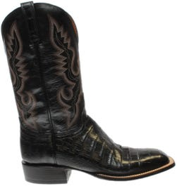 Trent Mad Dog Goat and Caiman Leather Boots