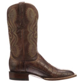 Roy Alligator Leather Boots