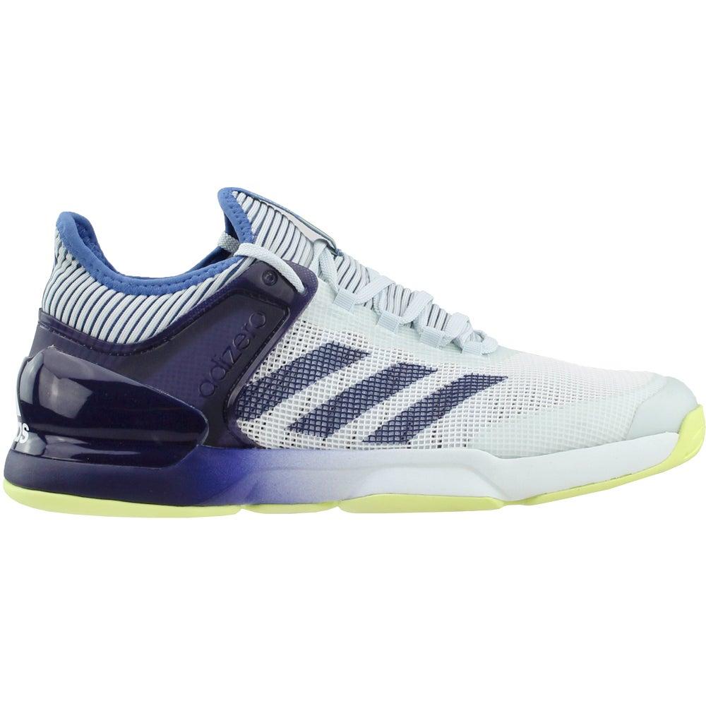 c687506e16bd8 Details about adidas Adizero Ubersonic 2 Tennis Shoes - Grey - Mens