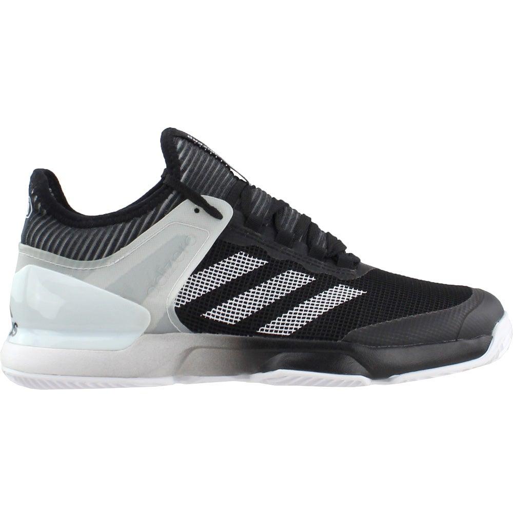 sports shoes cdb31 95f09 Details about adidas adiZERO Ubersonic 2 Clay Tennis Shoes - Black - Mens