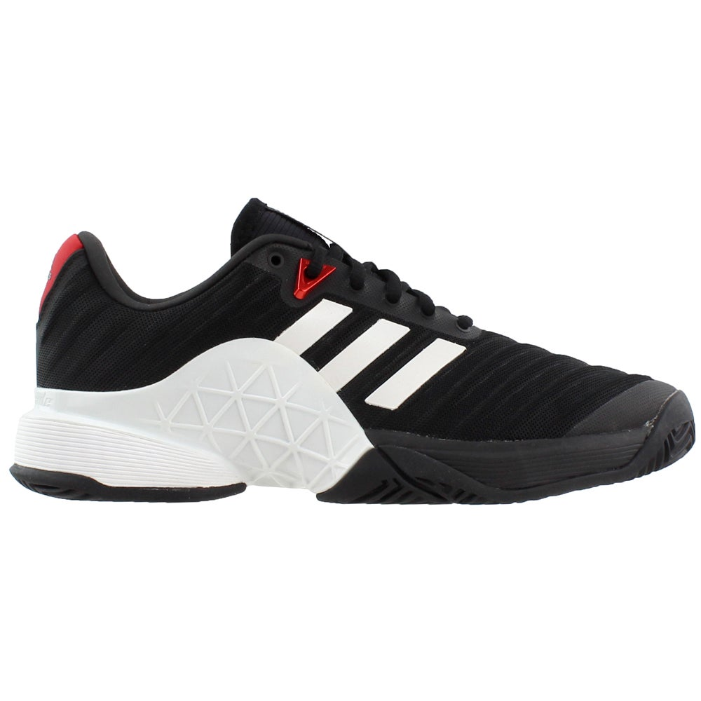 fe7d4bf69f4524 Details about adidas Barricade 2018 Tennis Shoes - Black - Mens
