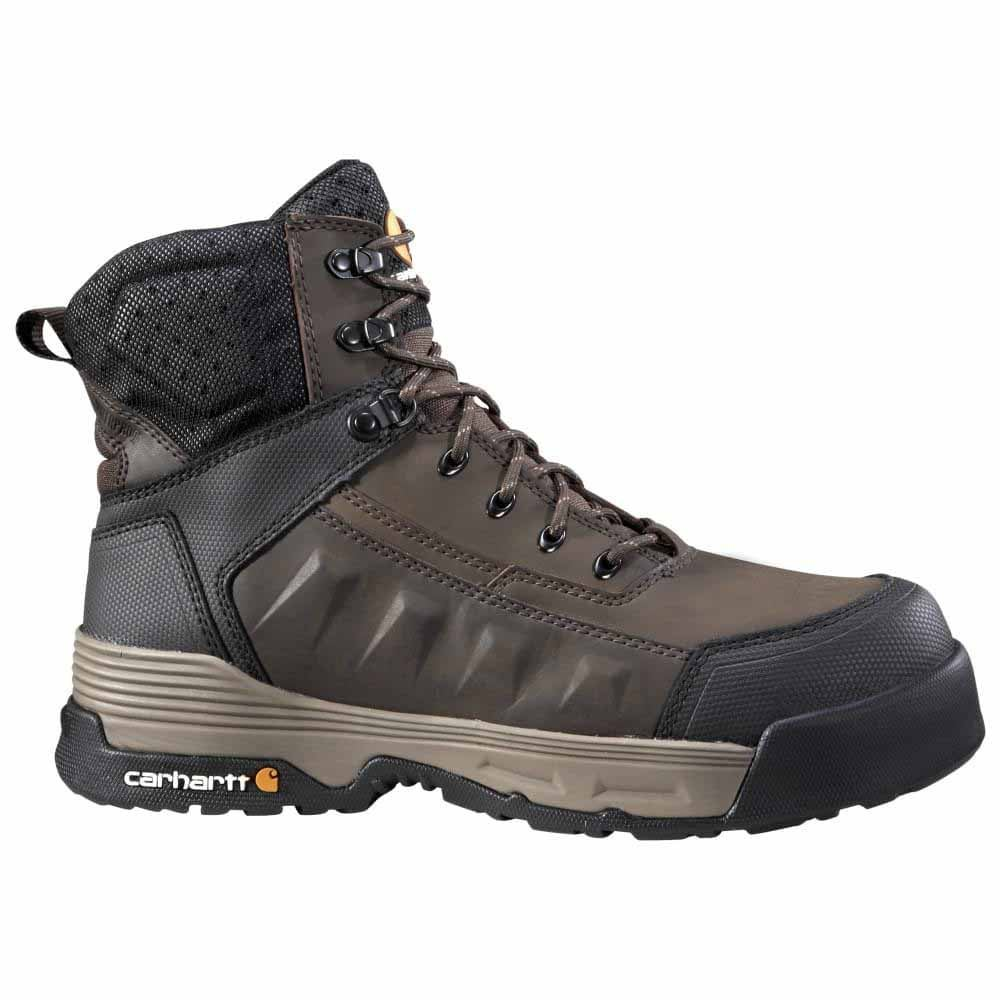 9faeafd3f3d Carhartt 6in Force Waterproof Composite Toe Brown Work Boots and get ...