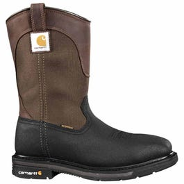 e3efc5ce10d Carhartt 11in Waterproof Insulated Wellington Steel Toe Brown Work ...