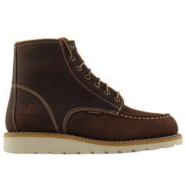 f7c691bcbb7 Danner Bull Run Moc Toe 6in Brown Work Boots and get free shipping ...