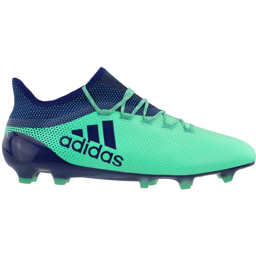 Details about adidas x 17.1 firm ground Casual Soccer Cleated Cleats Green Mens Size 12.5 D
