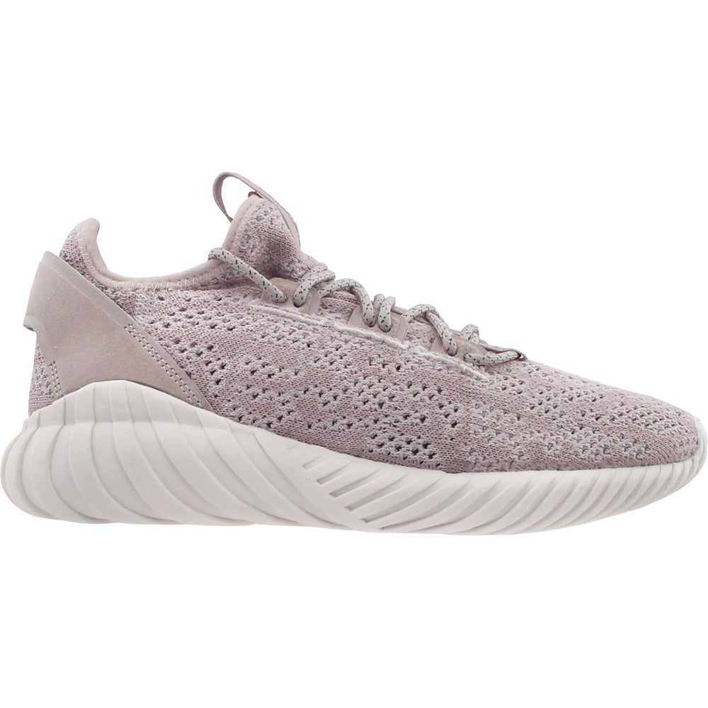 9ca3759ca0af Image is loading adidas-Tubular-Doom-Sock-Sneakers-Purple-Boys-Size-