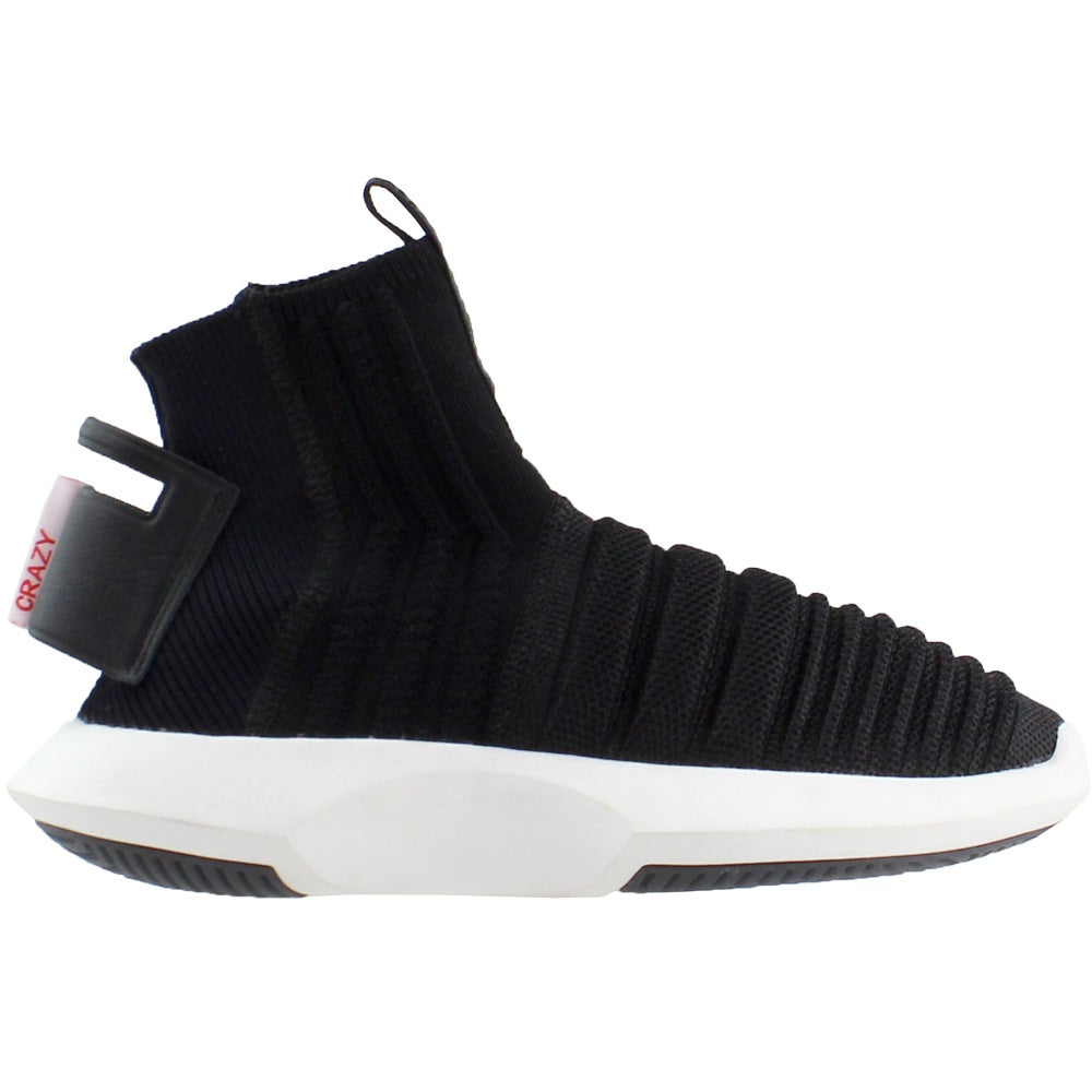 competitive price 749b8 8f882 Details about adidas Crazy 1 ADV Sock Primeknit Sneakers - Black - Mens