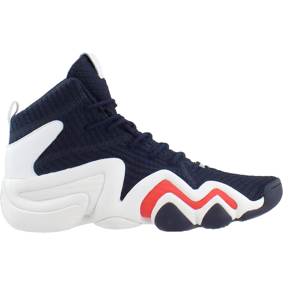 buy popular 4cd6f 09ba1 Details about adidas Crazy 8 ADV Primeknit Basketball Shoes - Navy - Mens