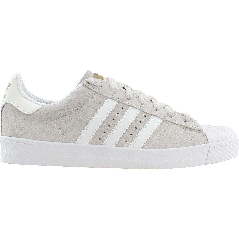 ff4caf04b437 Details about adidas Superstar Vulc Adv Skate Shoes - Grey - Mens