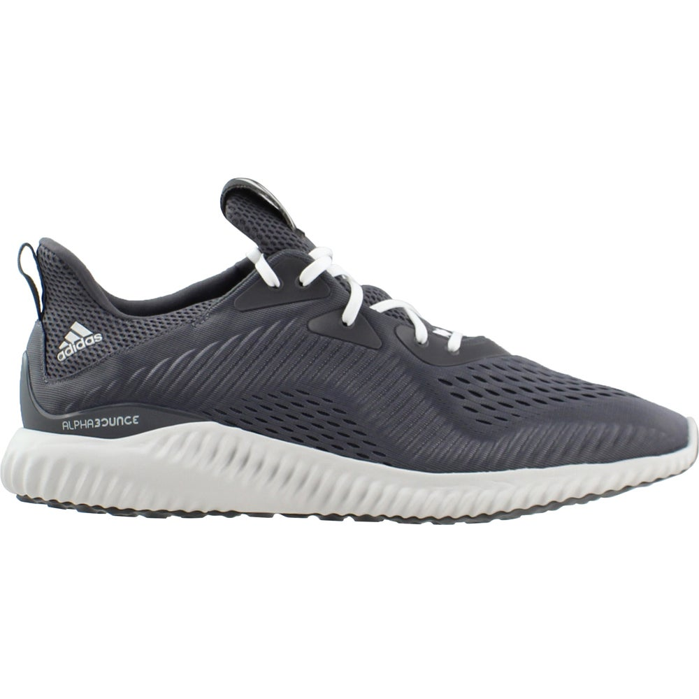 f0a6a9997 Details about adidas Alphabounce EM Running Shoes - Grey - Mens