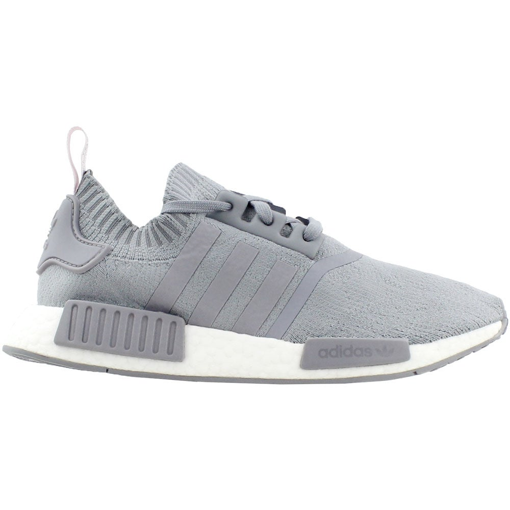 huge discount 29bb6 a5c13 Details about adidas NmdR1 Primeknit Sneakers - Grey - Womens