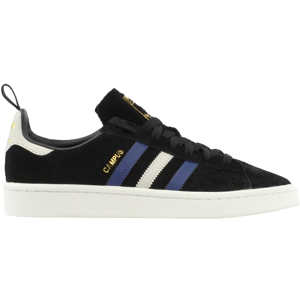 online store 354e8 1dc40 Details about adidas Campus Sneakers - Black - Mens