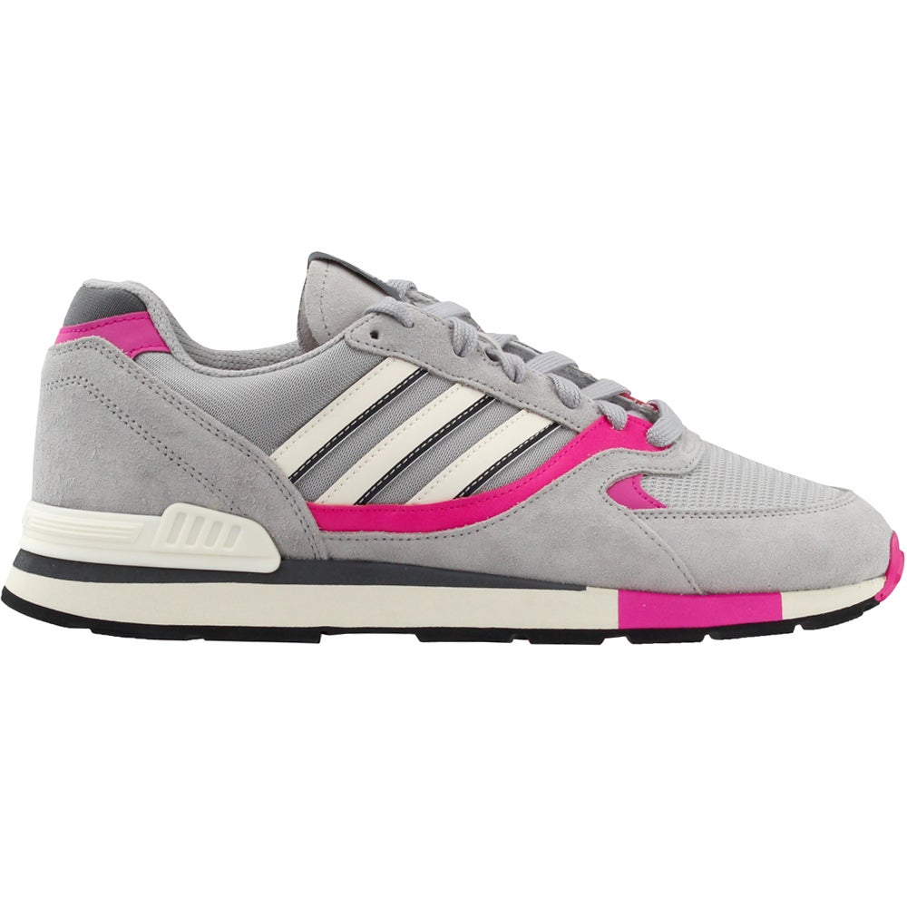 Details about adidas QUESENCE Running Shoes Grey Mens