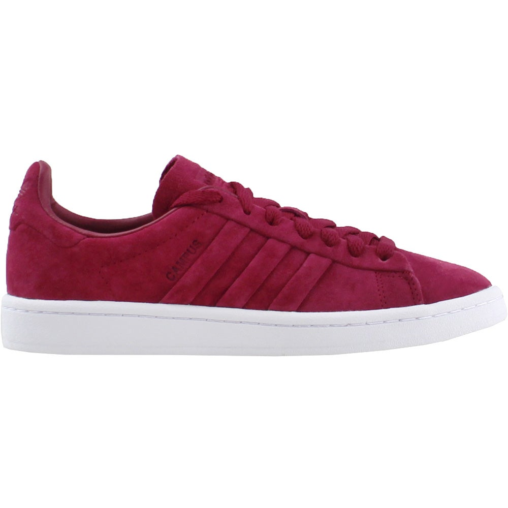 separation shoes 908b1 2dc81 Details about adidas Campus Stitch And Turn Sneakers - Red - Mens