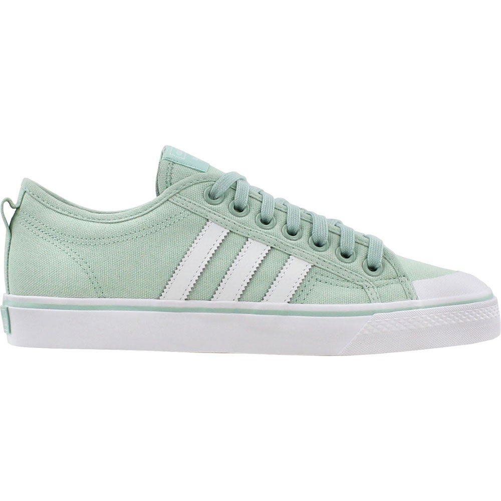 Details about adidas Nizza Sneakers Casual Sneakers Green Womens Size 6 B