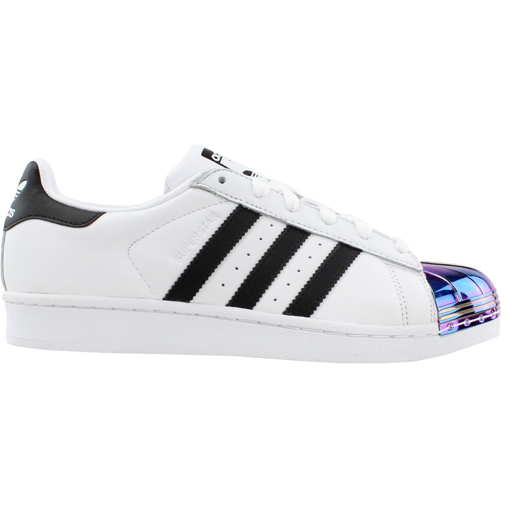 brand new 3fb18 c41c3 Details about adidas Superstar Metal Toe Sneakers - White - Womens