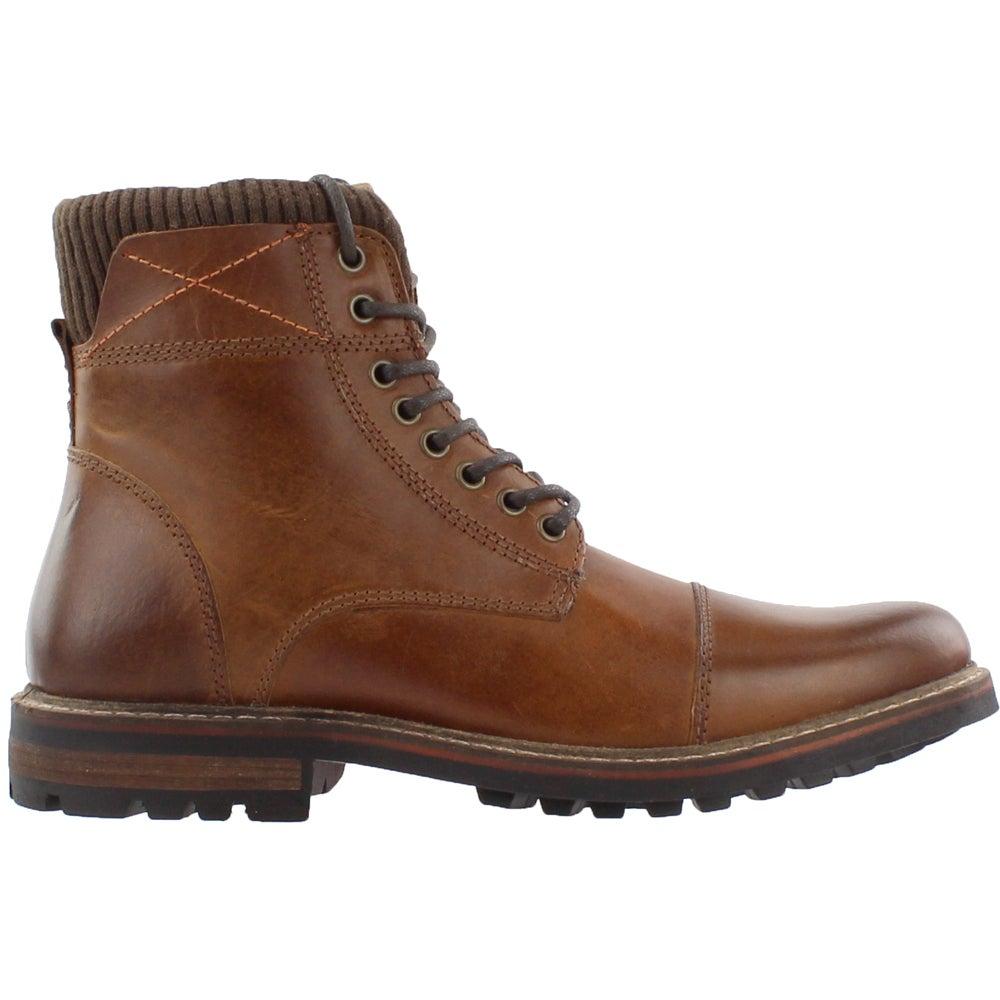 3e108f5b836 Details about Crevo Camden Boots Brown - Mens - Size 9 D