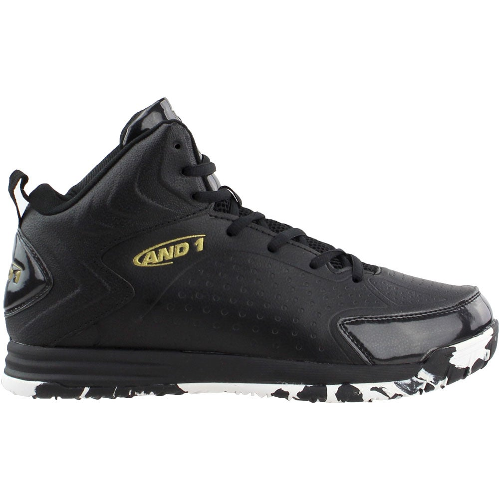 AND1 AND1 Tipoff Black Mens Lace Up