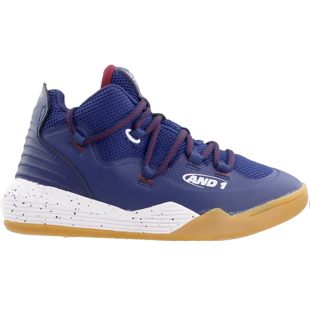 AND1 Chaos  Casual Basketball  Shoes White Boys
