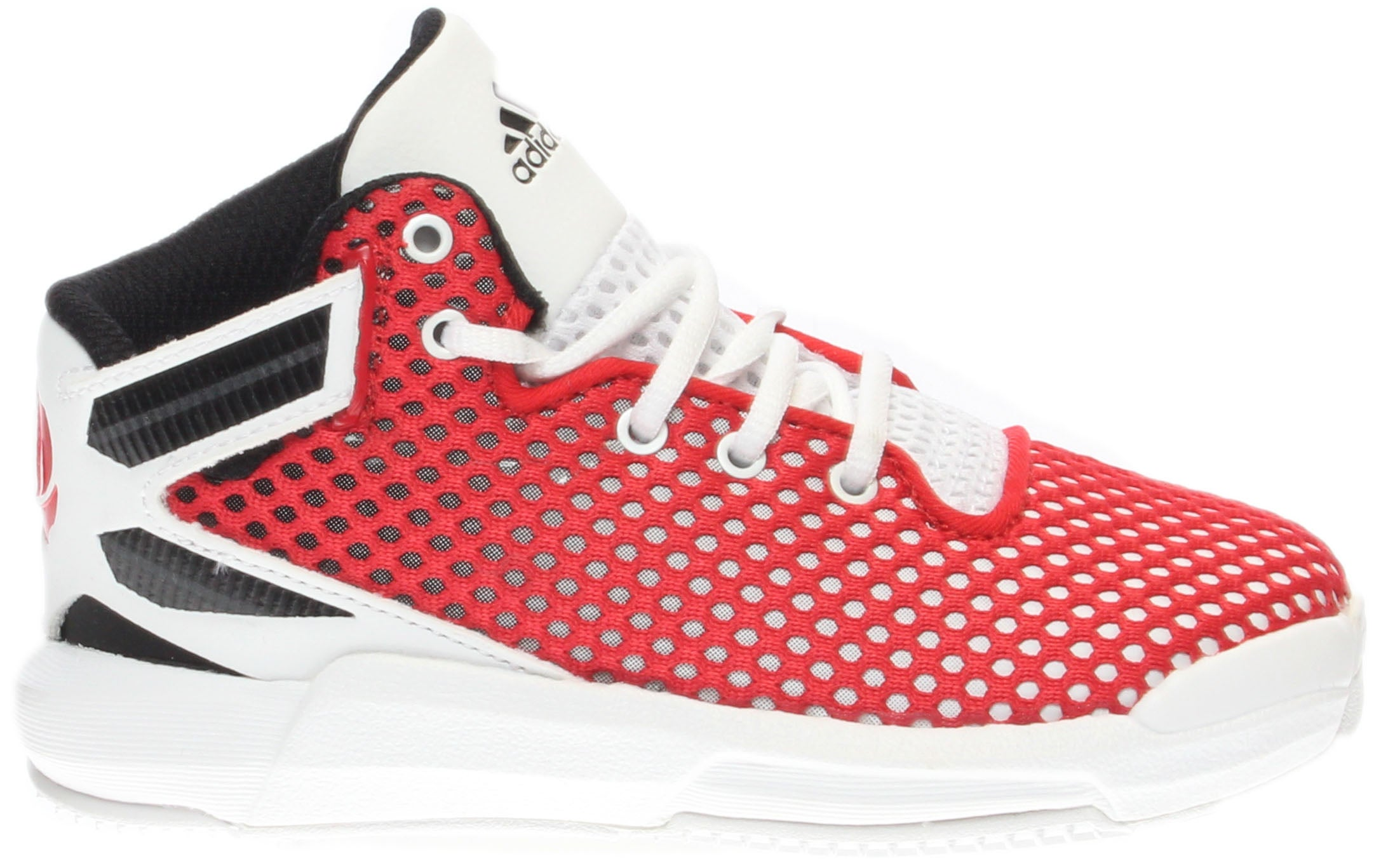 844968cc1c48b8 Details about adidas D Rose 6 Sneakers - Red - Boys
