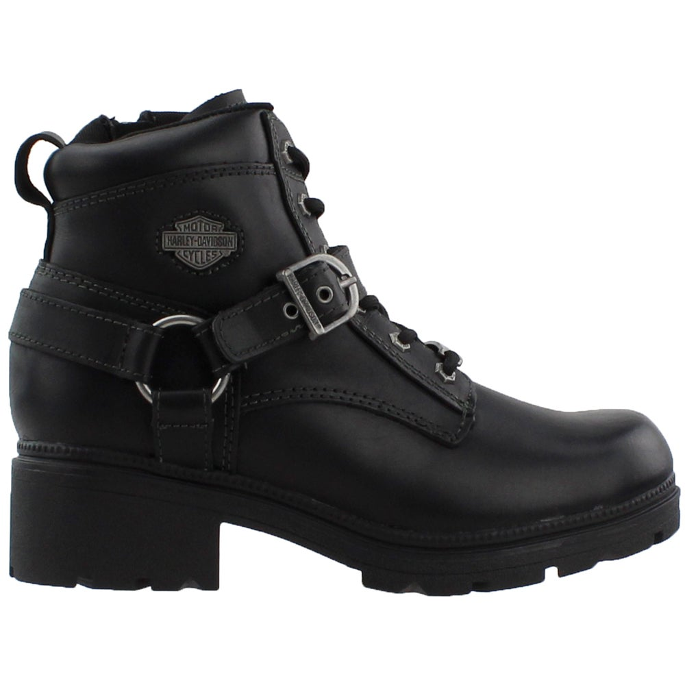 Harley-Davidson Tegan (Black) Women's Boots
