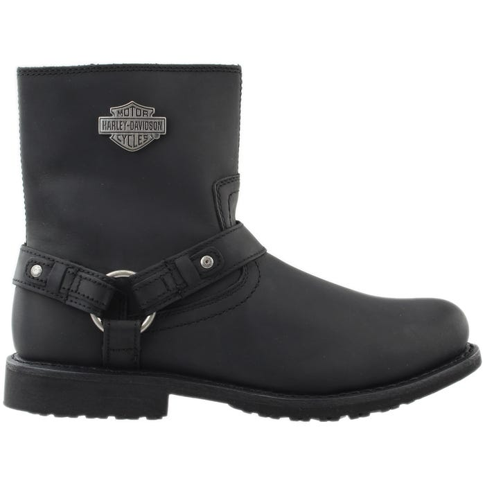 Harley Davidson Footwear Scout Black Mens Motorcycle Boots