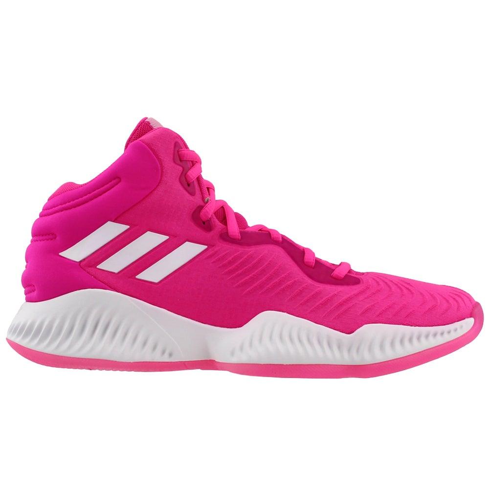 pink adidas basketball shoes