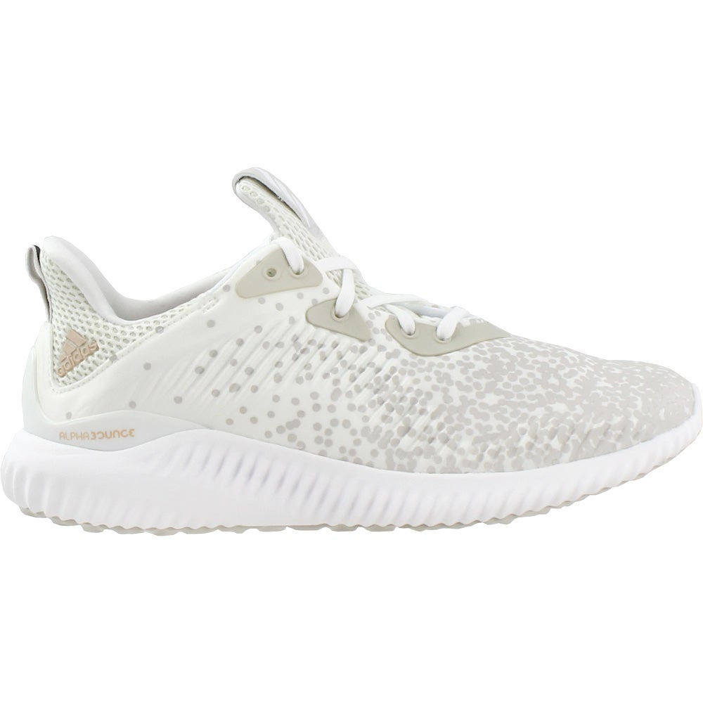 brand new 2aa63 a0a23 Details about adidas Alphabounce 1 - White - Womens