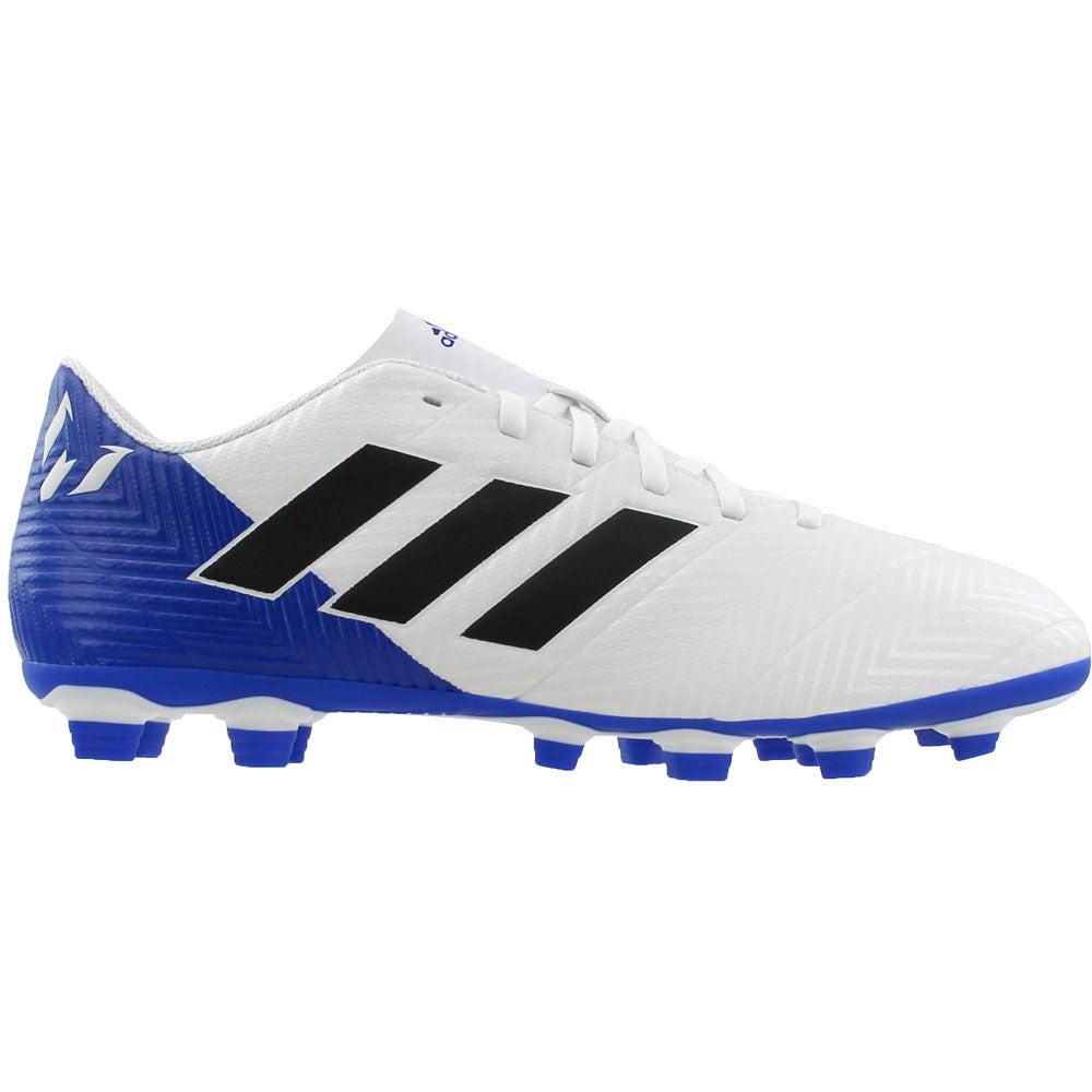 3af44e225 Details about adidas Nemeziz Messi 18.4 FxG - White - Mens
