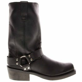 Black Harness Boot