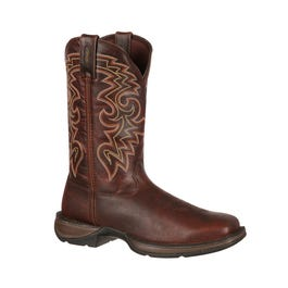 Rebel by Dark Brown Pull-On Western Boot