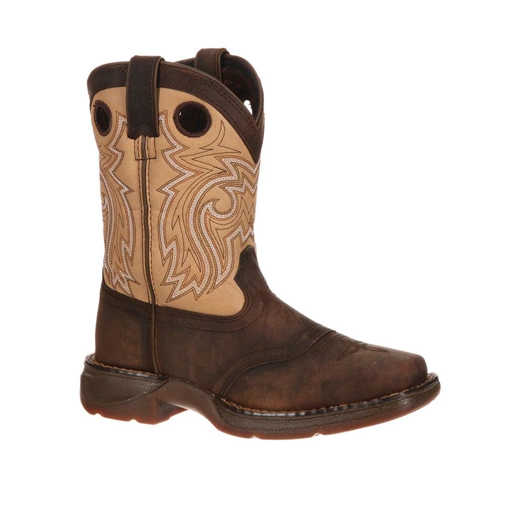 Lil' Durango Big Kid Saddle Western Boot