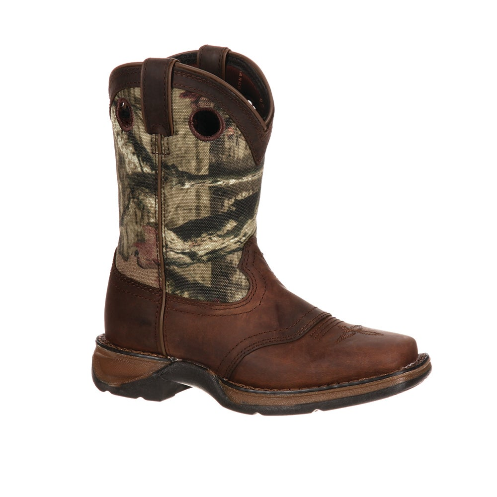 Lil' Durango Little Kid Camo Saddle Western Boot