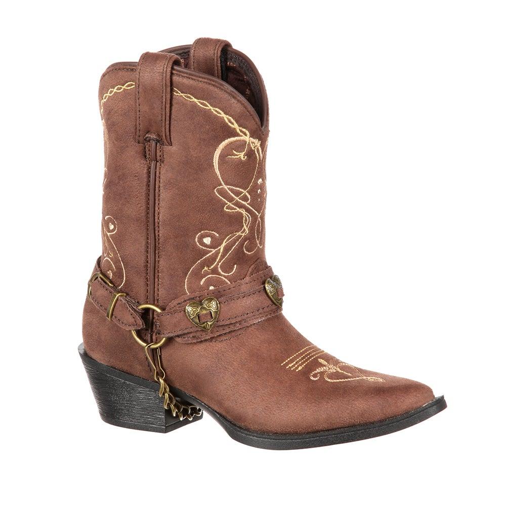 Lil' Crush by Durango Big Kid Heartfelt Western Boot