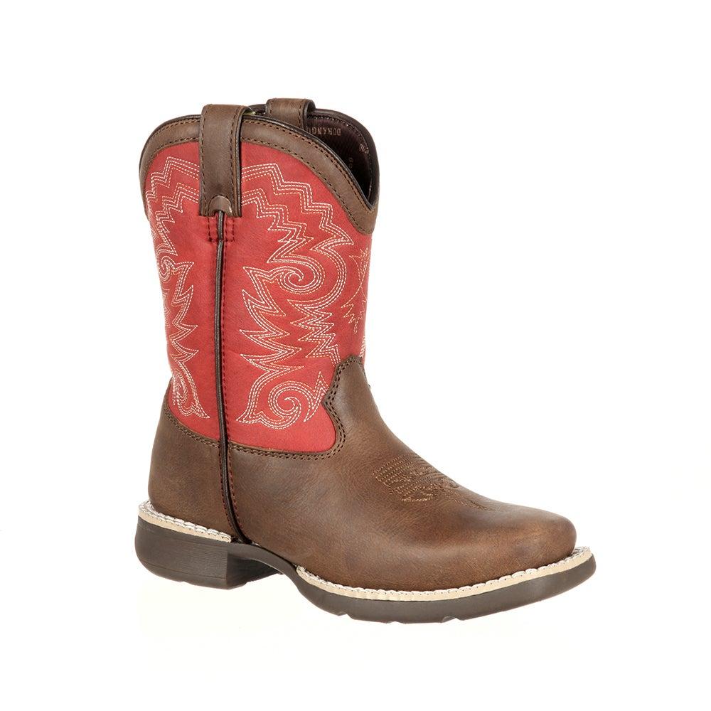 Lil' Durango Big Kid Stockman Western Boot
