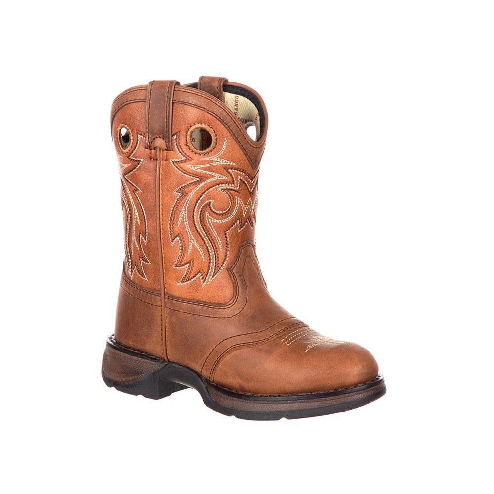 Lil' Durango Big Kids' Western Saddle Boot