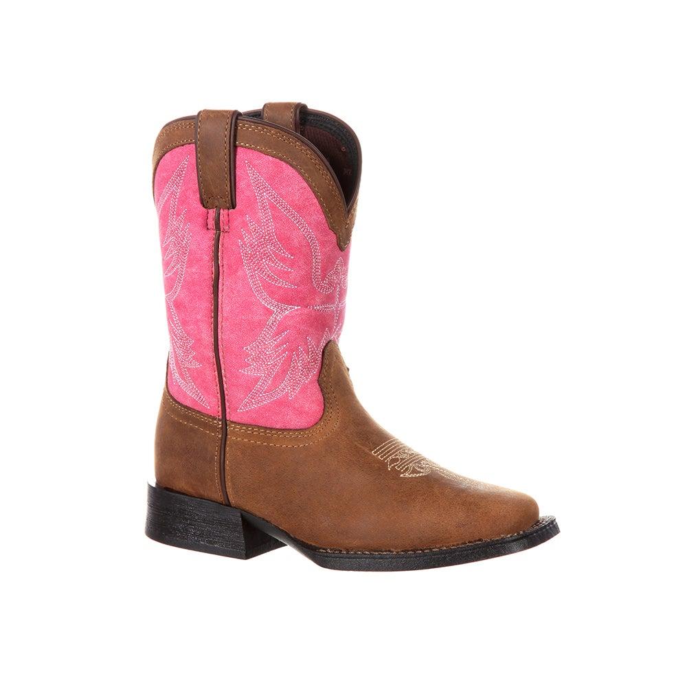 Durango Lil' Mustang Big Kids' Western Boot