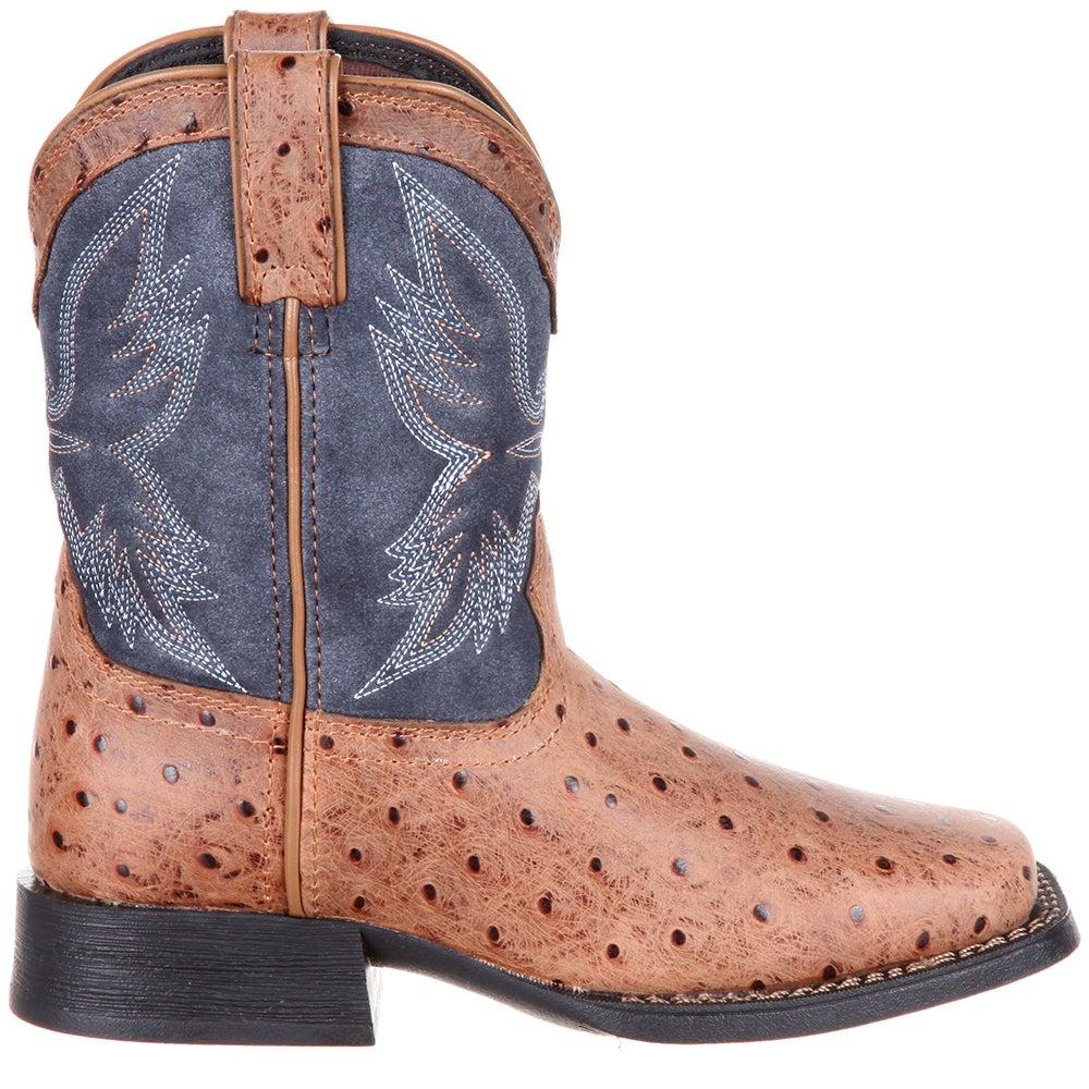 Durango Lil Mustang Ostrich Emboss Western Boot