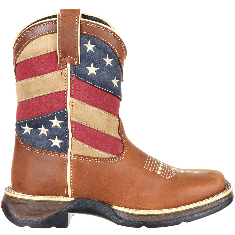 Lil Rebel by Durango Little Kids' Flag Western Boot