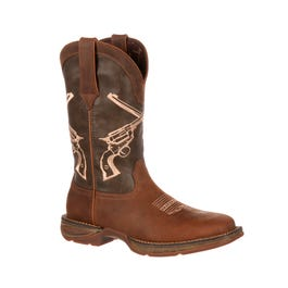 6b77ad471a8 Rebel by Durango Faded Union Flag Western Boot and get free shipping ...