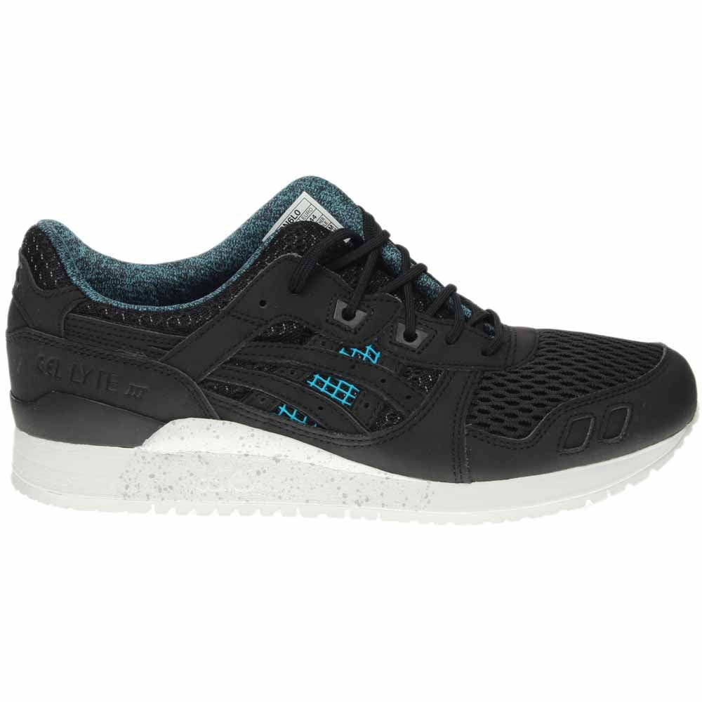 on sale 01b48 4c2b3 Details about ASICS GEL-Lyte III Running Shoes - Black - Mens