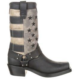 Durango Women's Faded Flag Harness Boot