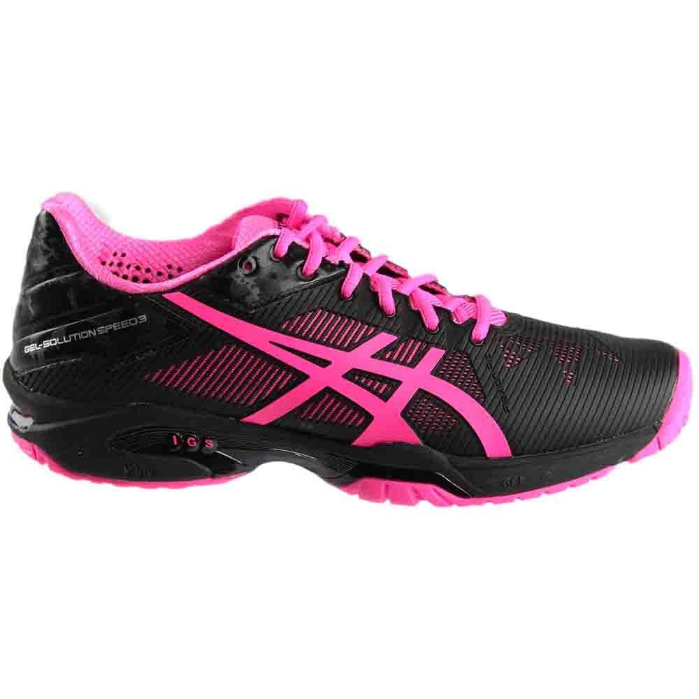 058103624dcb ASICS GEL-Solution Speed 3 Tennis Shoes - Black - Womens