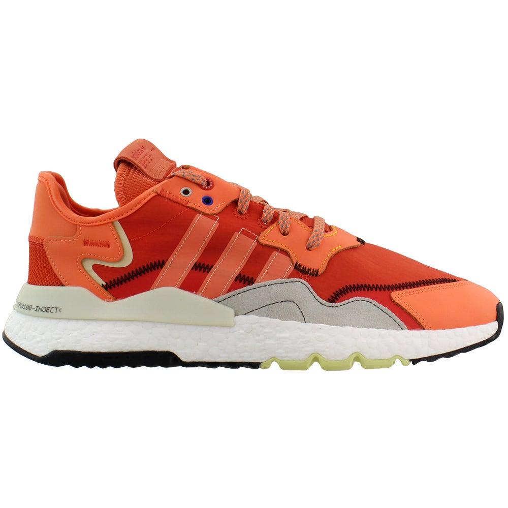 mens orange casual shoes