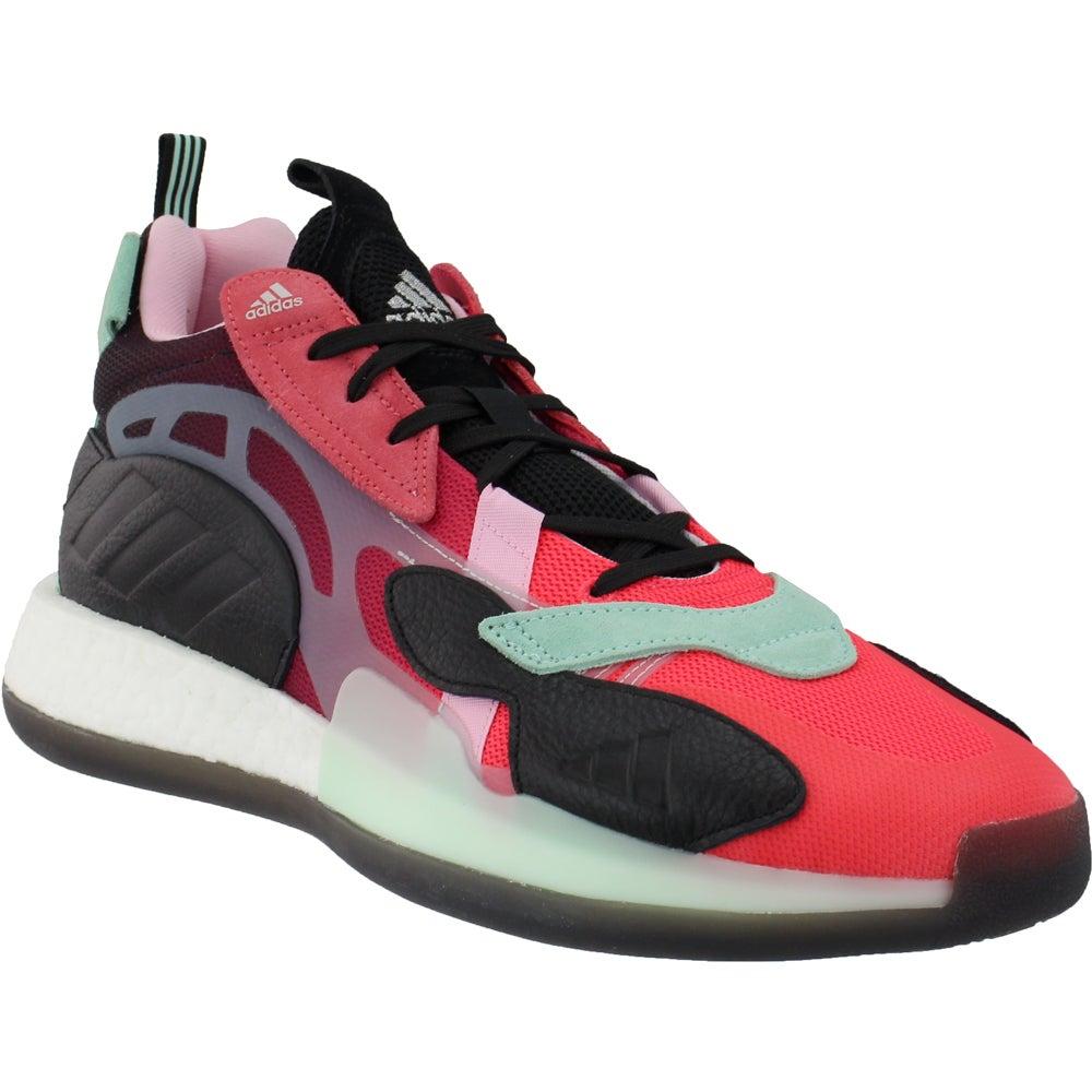adidas Adidas Zoneboost Basketball Shoes Black Mens Lace ...