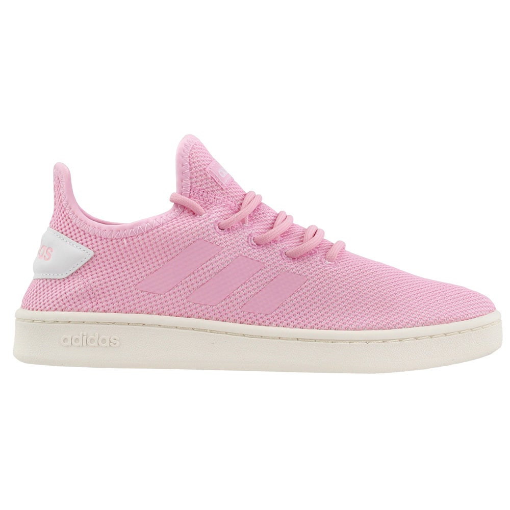 adidas Court Adapt Pink Womens Lace Up Sneakers